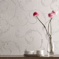 Graham and Brown Athena White/Grey 20-730 Wallpaper